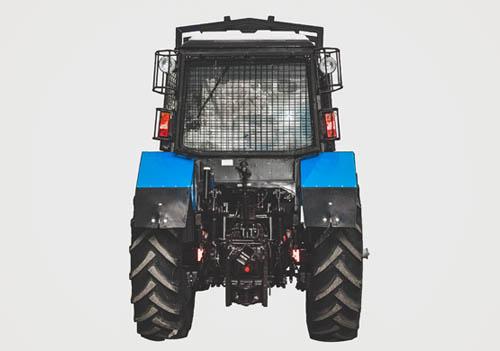 лесохозяйственный трактор МТЗ запчасти ремонт
