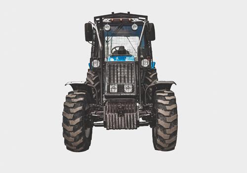 Лесной трактор МТЗ запчасти