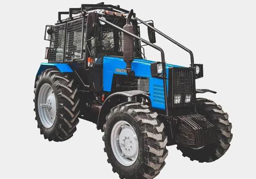 Лесной трактор МТЗ