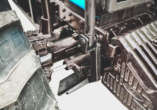 Лесной трактор МТЗ ремонт